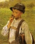 Ιακωβίδης Γεώργιος-Αγόρι που καπνίζει