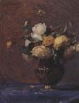 Ιακωβίδης Γεώργιος-Βάζο με λουλούδια