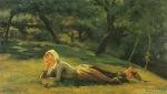 Ιακωβίδης Γεώργιος-Γερμανίδα ξαπλωμένη στο δάσος
