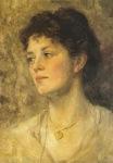 Ιακωβίδης Γεώργιος-Γυναίκα με μενταγιόν, 1908