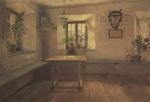 Ιακωβίδης Γεώργιος-Εσωτερικό Γερμανικού σπιτιού