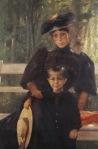 Ιακωβίδης Γεώργιος-Η σύζυγος του καλλιτέχνη με το γιό τους, 1895