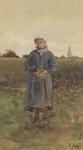 Ιακωβίδης Γεώργιος-Κορίτσι σε αγρό
