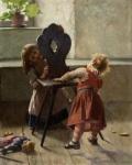 Ιακωβίδης Γεώργιος-Κού κου, Peek a boo, 1896