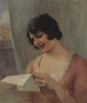 Ιακωβίδης Γεώργιος-Κυρία που διαβάζει επιστολή