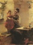Ιακωβίδης Γεώργιος-Μητέρα και παιδί