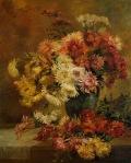 Ιακωβίδης Γεώργιος-Νεκρή φύση με λουλούδια