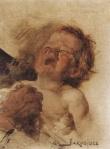 Ιακωβίδης Γεώργιος-Παιδί που κλαίει, τμήμα απο την ψυχρολούσια