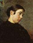 Ιακωβίδης Γεώργιος-Πορτραίτο μιας όμορφης νέας, 1881