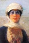 Ιακωβίδης Γεώργιος-Πορτραίτο νέας γυναίκας