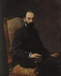 Ιακωβίδης Γεώργιος-Πορτραίτο του καθηγητή August Fink