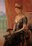 Ιακωβίδης Γεώργιος-Προσωπογραφία Βασίλισσας Σοφίας, 1915