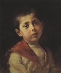 Ιακωβίδης Γεώργιος-Προσωπογραφία Βασιλάκη Μελά