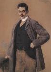 Ιακωβίδης Γεώργιος-Προσωπογραφία Δημήτρη Λιαλόοιου, 1888