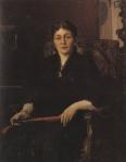 Ιακωβίδης Γεώργιος-Προσωπογραφία κυρίας 1