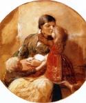 Ιακωβίδης Γεώργιος-Στήν αγκαλιά της μητέρας