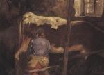 Ιακωβίδης Γεώργιος-Το άρμεγμα της αγελάδας