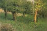 Ιακωβίδης Γεώργιος-Τοπίο με δέντρα
