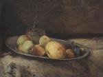 Ιακωβίδης Γεώργιος-Φρούτα με δίσκο και καράφα