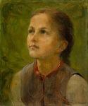 Ιακωβίδης Γεώργιος-Little girl in the fields