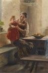 Ιακωβίδης Γεώργιος-Mother and child