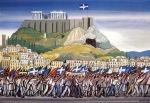 Τάσσος (Αναστάσιος Αλεβίζος)-10 Οκτώβρη1944, Η απελευθέρωση της Αθήνας