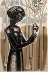 Τάσσος (Αναστάσιος Αλεβίζος)-Το κορίτσι με τα μικρά δέντρα, 1963