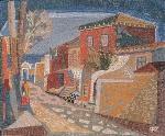 Ζαχαριου Φώτης-Σοκάκι με σπίτια, 1983