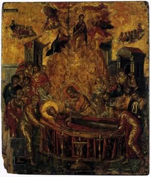 Η Κοίμηση της Θεοτόκου, The Dormition of the Virgin, before 1567