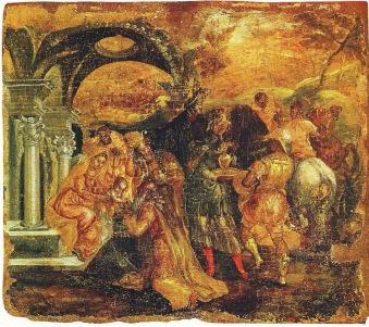 Η Προσκύνηση των Μάγων, Adoration of the shepherds, 1565-67