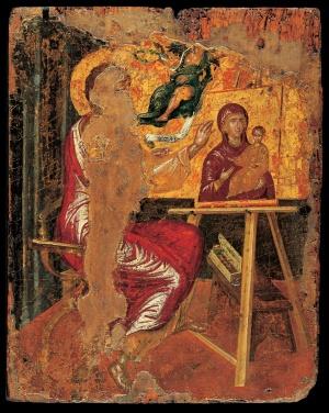 Ο Άγιος Λουκάς ζωγραφίζει την Παναγία, St. Luke Painting the Virgin, 1560-67