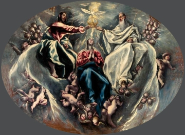 Η Στέψη της Θεοτόκου, The Coronation of the Virgin, 1603-05