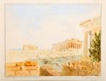 Αλεξίου Κώστας-Propylaea, Parthenon, Erechtheion, 1950