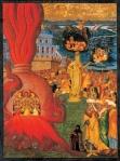 Αδριανουπολίτης Κωνσταντίνος-The Story of Daniel and the Three Youths in the Fiery Furnace,  c.1725-50