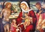 Περμενιάτης (Περμενιώτης) Ιωάννης-Virgin with child and saints, 1500-25