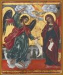 Καραντινός Ανδρέας-The Annunciation, before 1716