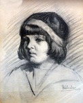 Ηλιάδου Ελένη-Πορτραίτο κοριτσιού