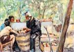 Ιωαννίδης Βίκτωρ-Διαλέγοντας μήλα, 1962
