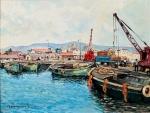 Ιωαννίδης Βίκτωρ-Το παλιό Λιμάνι Λεμεσού, 1973