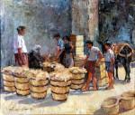 Ιωαννίδης Βίκτωρ-The old Market, 1972
