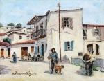 Ιωαννίδης Βίκτωρ-Village in Limassol, 1979